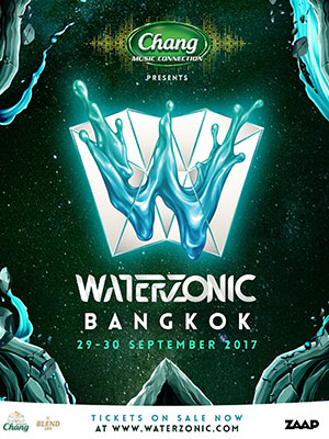 Chang Music Connection Presents Waterzonic 2017